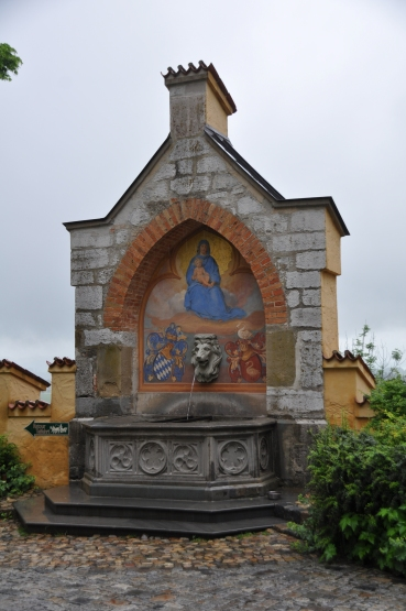 Mary fountain Hohenschwagau