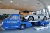 High speed race tow truck, Mercedes