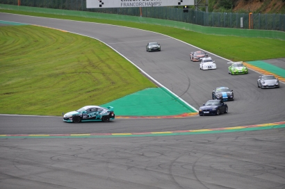 cars on the track