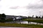 Static plane display Amsterdam airport